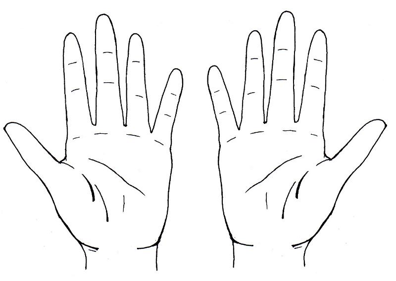 Comment dessiner des mains dessins en 2019 dessin main - Main en dessin ...