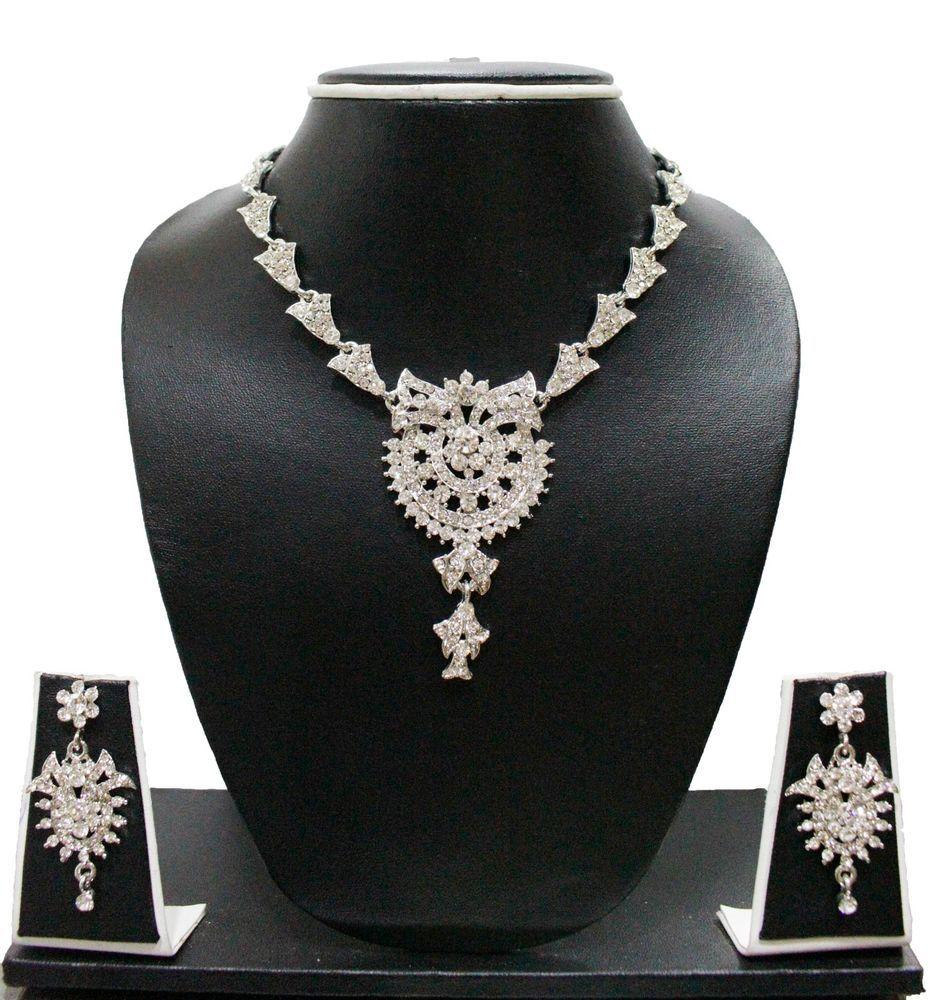 Necklace set gold diamond by zaveri pearls zpfk zaveripearls