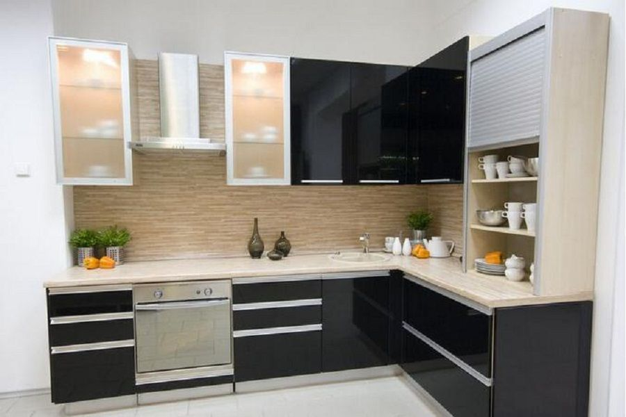 Stunning Small Kitchen Designs L Shaped Luxury Home Design Gallery With L Shaped Kitchen Layout