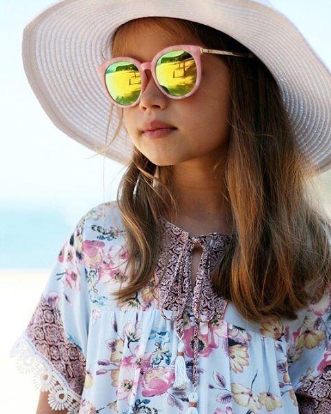 Girls\' Boho Dress made with Peach Patterns Boho Tunic Top & Dress ...