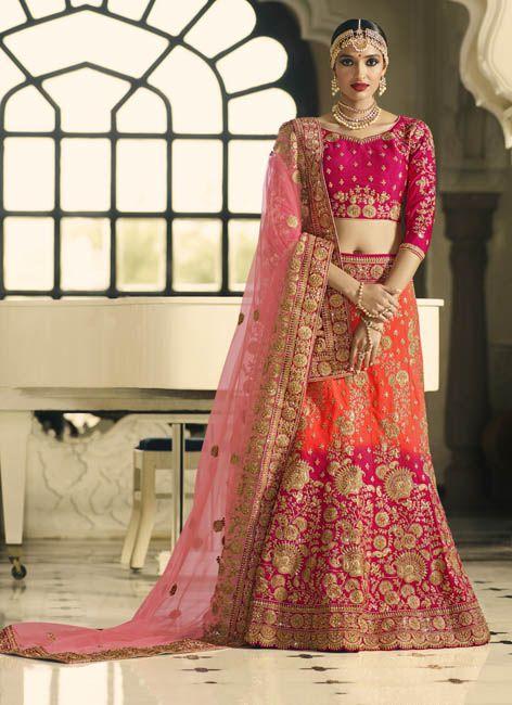 b584df60c3 Admirable Look Two Tone Shaded #Wedding #Lehenga #weddingflares ...