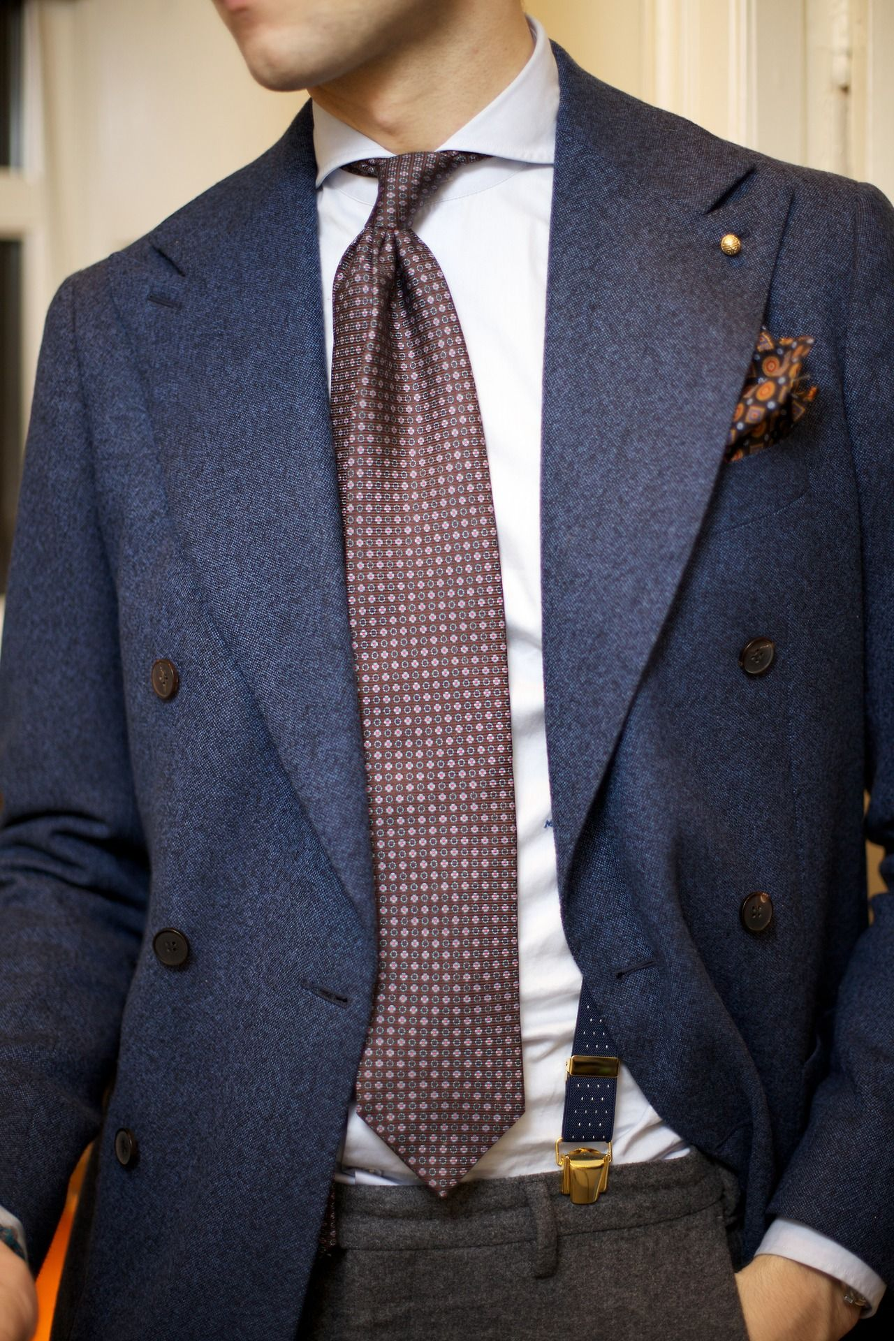 Men's grey flannel trousers  Pin by Justin Gunn on Fly Clothes  Pinterest  Dapper