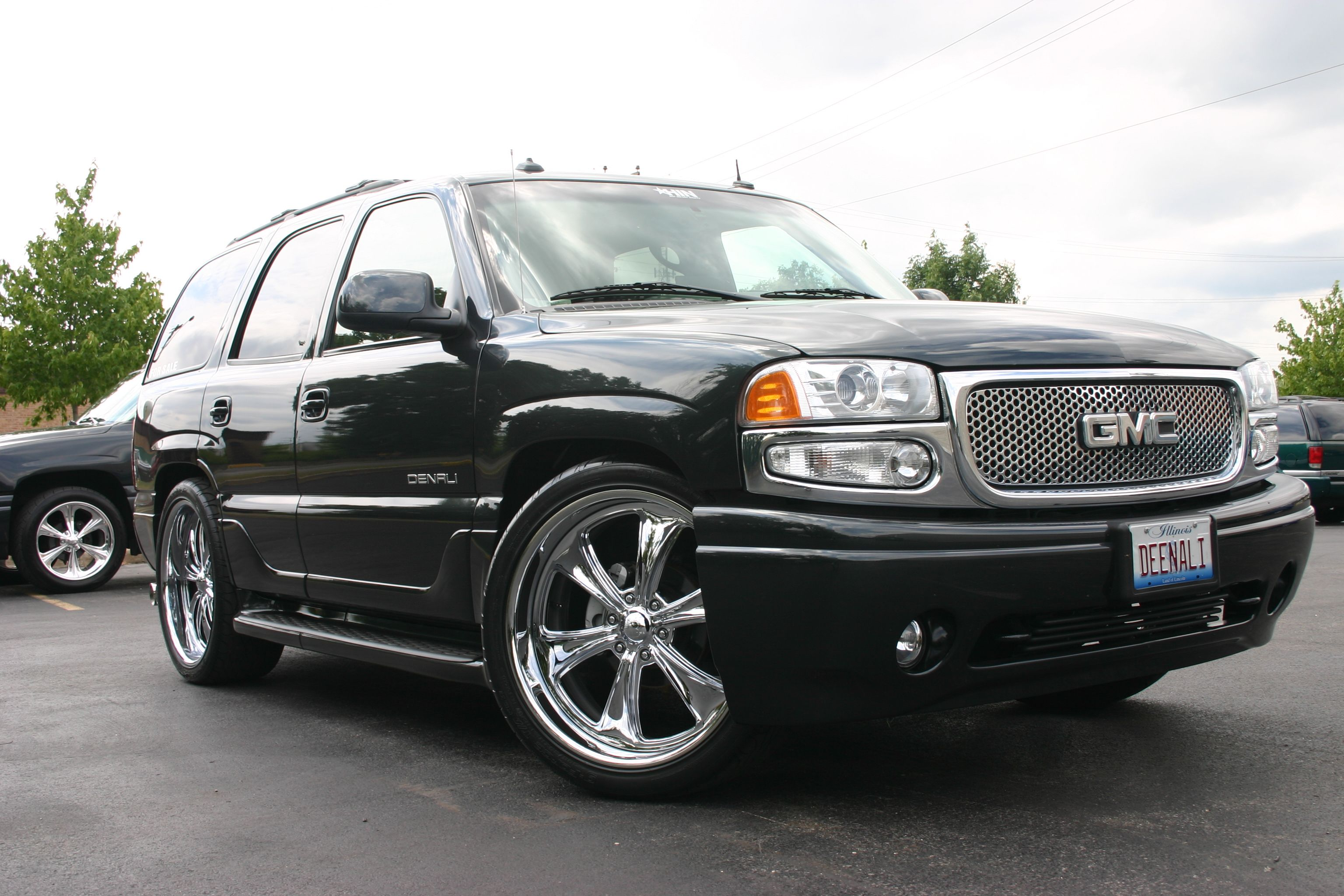 Billet Specialties Slc63 Wheels On 2002 Yukon Denali With Images