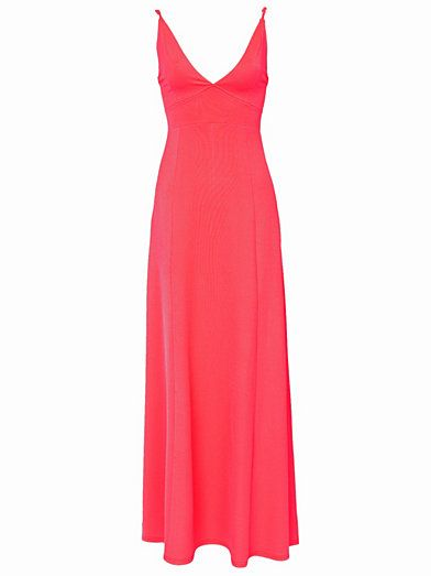 Triangle Maxi Dress - Club L - Neon Pink - Party Dresses - Clothing - Women