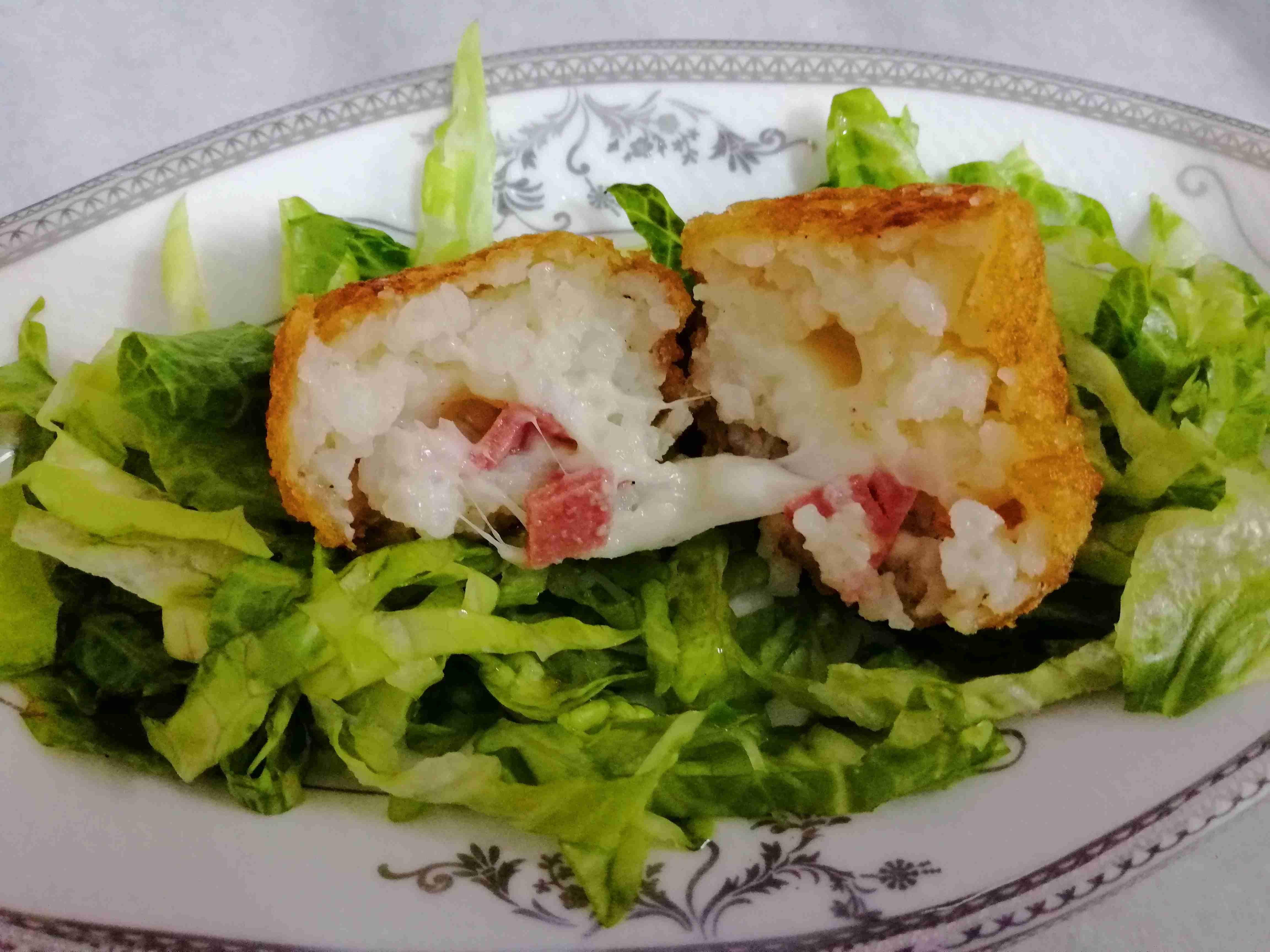 كرات الارز المقلية ملكة رمضان زاكي Recipe Food Side Plates Chicken