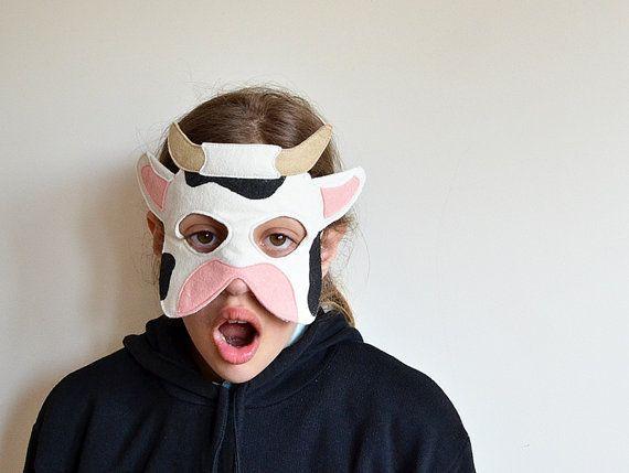 Vestido de vaca máscara carnaval Natividad traje por BHBKidstyle