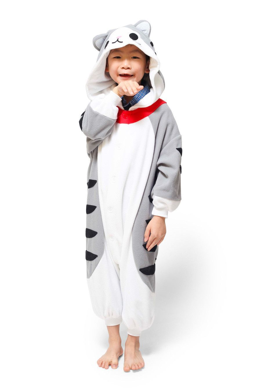 Kids Tabby Cat Kigurumi Age 5 9 Cats Onesies Whats Your Spirit Animal