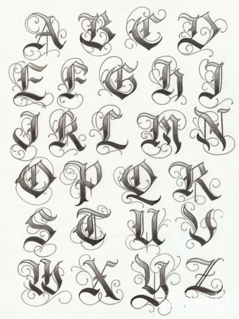 Lettering Tattoo Fonts 07 Idea Letters To Fix My Knuckles Tatts