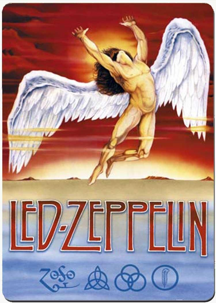 Led Zeppelin Rock Band Posters Led Zeppelin Poster Led
