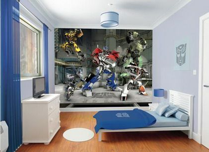 Optimus Prime Transformers Fall of Cybertron Wall Murals