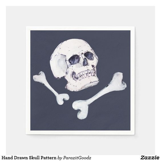 If you want to be the coolest person in the environment, what better than a charismatic hand-drawing skull? #zazzle #skull #handdrawn #watercolor #pattern #halloween #scary #cool  #artprint #gifts #gift #giftideas #design #unique #custom #kitchen #dining #apron #coaster #plate #placemat #jar #teapot #bowl #lunchbox #cooking #tablecloth #tablerunner