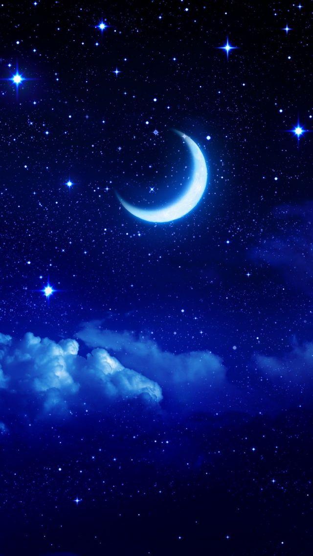 Moonlight Mobile9 Galaxy Wallpaper Star Wallpaper Moon Art