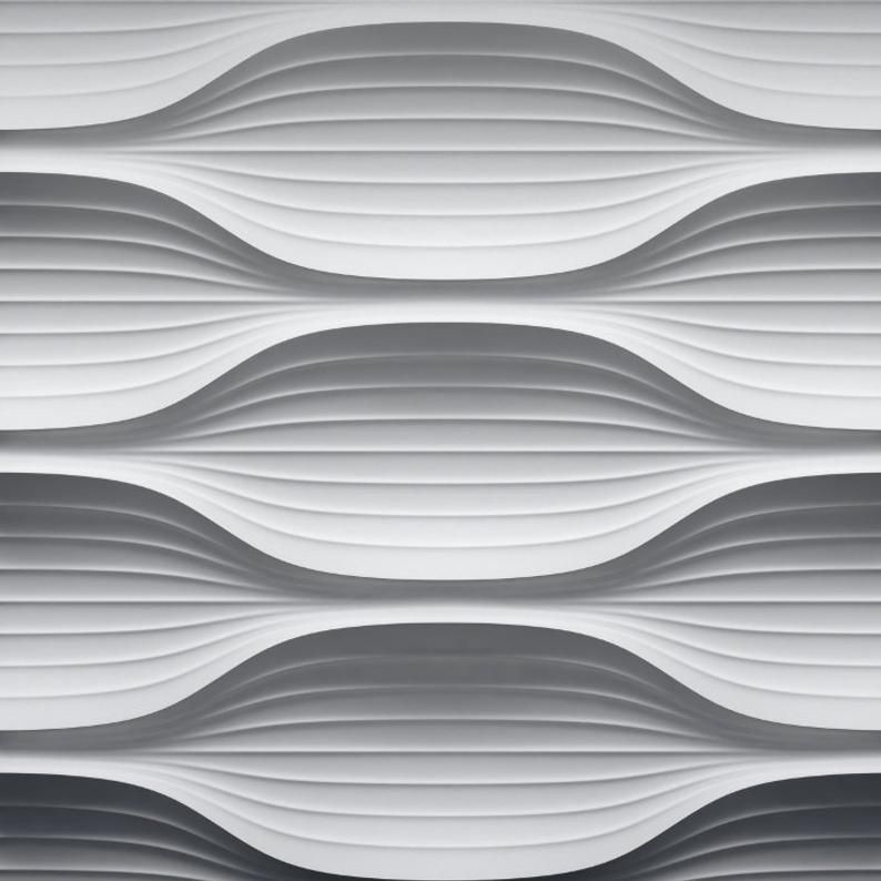 A la Maison Ceilings WD-SWP-PW Wind Wall Panel White