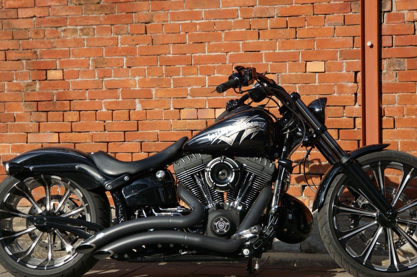 Breakout Bike Ride Honda Fury Harley Davidson [ 888 x 1334 Pixel ]