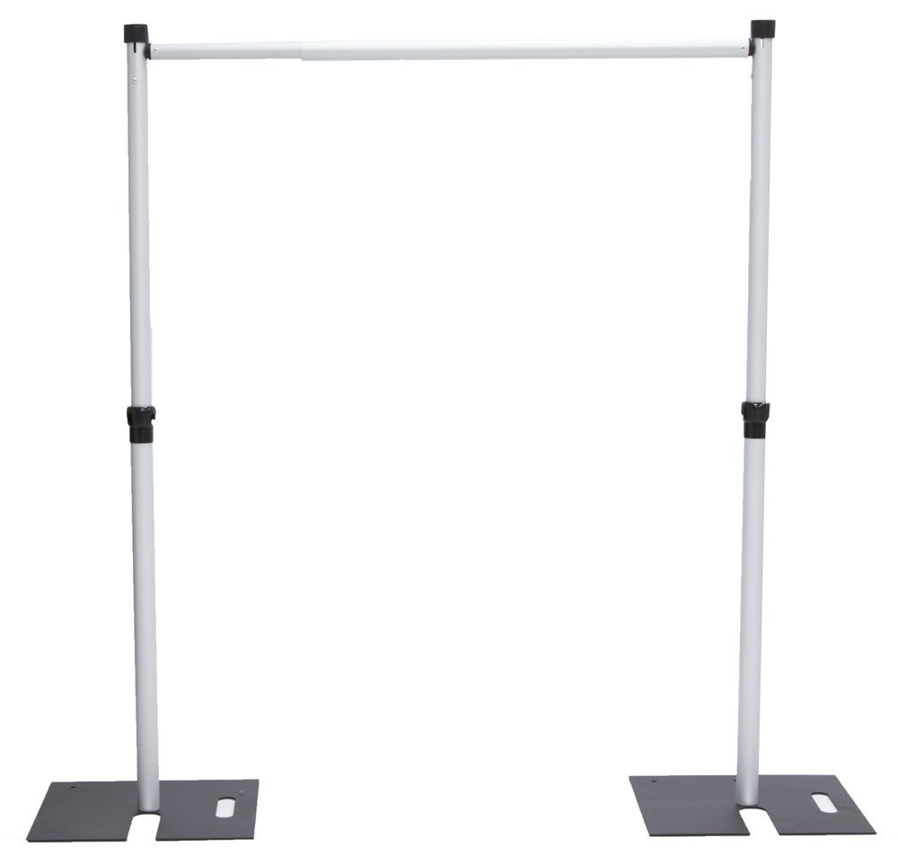 Photography Expo Stands : Pipe drape set quot x base ft upright