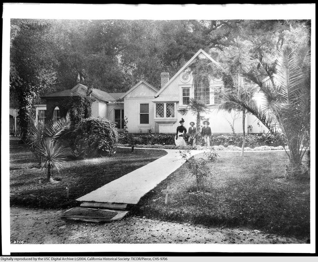 205 Modjeska's Home, near Silverado California
