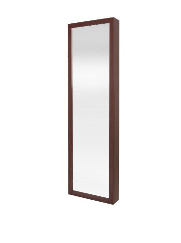 Plaza Astoria WallDoorMount Jewelry Armoire Cherry Plaza Astoria