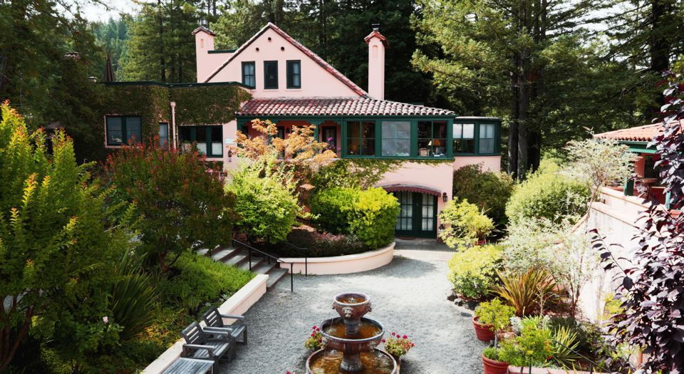 Guerneville California Sonoma S Russian River Valley Lewood Inn Luxury Hotel Bed Breakfast