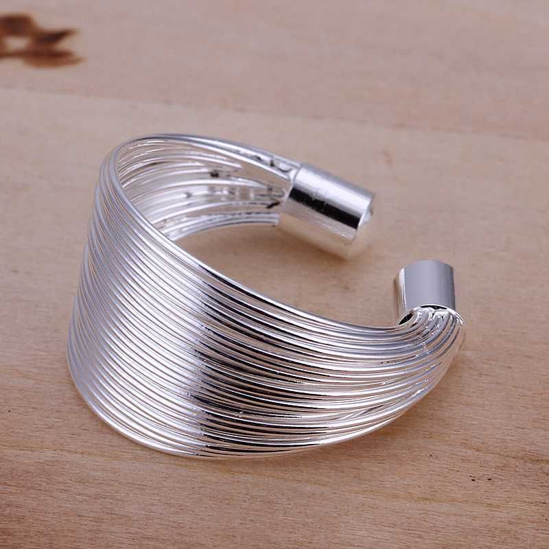 Women's 925 Sterling Silver Multi Line Fashion Ring Open Adjustable Band NWT #Fashion #Statement Ring #Valentines Day For Her www.stores.ebay.com/styleontherun4u