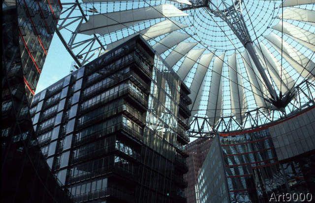 Eddy Sasse - Sony Center - Innenhof, Potsdamer Platz