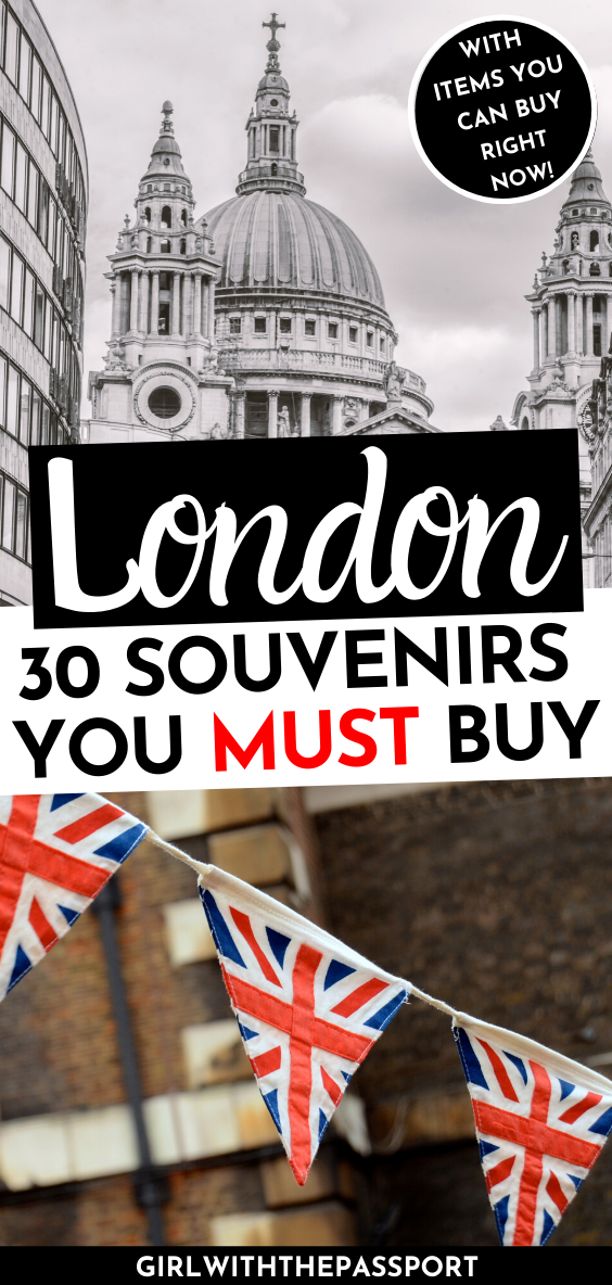 30 Amazing Things To Buy In London The Best Souvenirs From London England Travel Guide London England Travel Travel Guide London