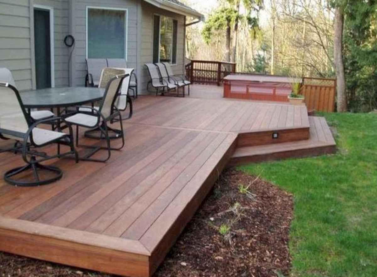23 Wonderful Backyard Patio And Decking Ideas To Inspire You Small Backyard Decks Deck Designs Backyard Patio Deck Designs