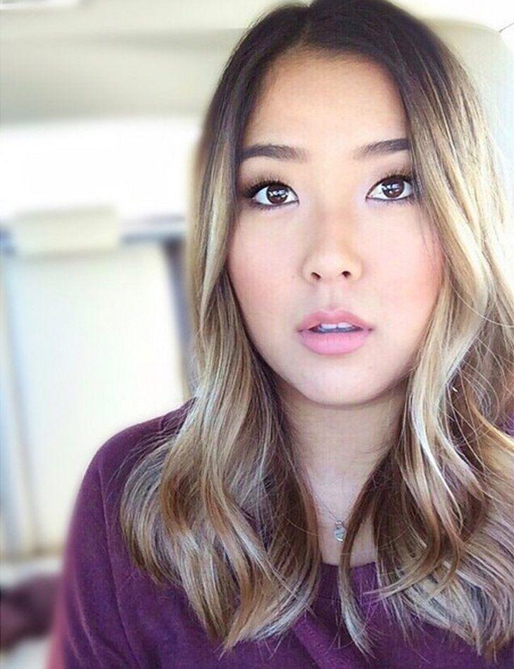 Makeup Beauty Hair Skin Blonde Asian Hair Hair Color Asian