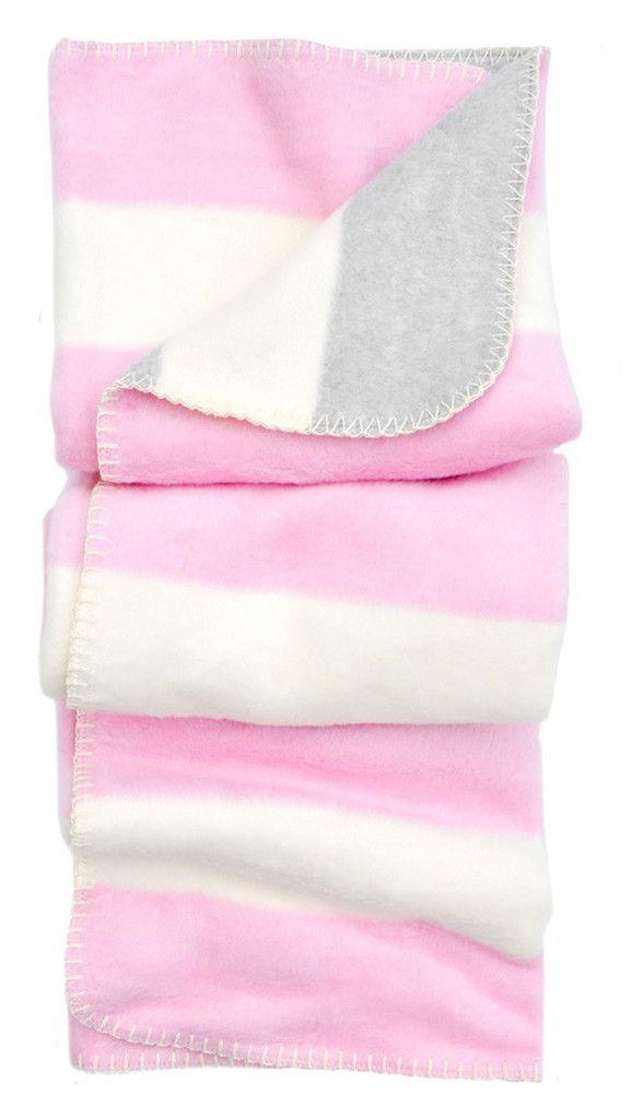 Striped Stroller Blanket