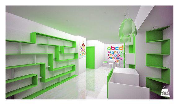 Diseño de librería infantil local de ropa Pinterest Diseño de - libreria diseo