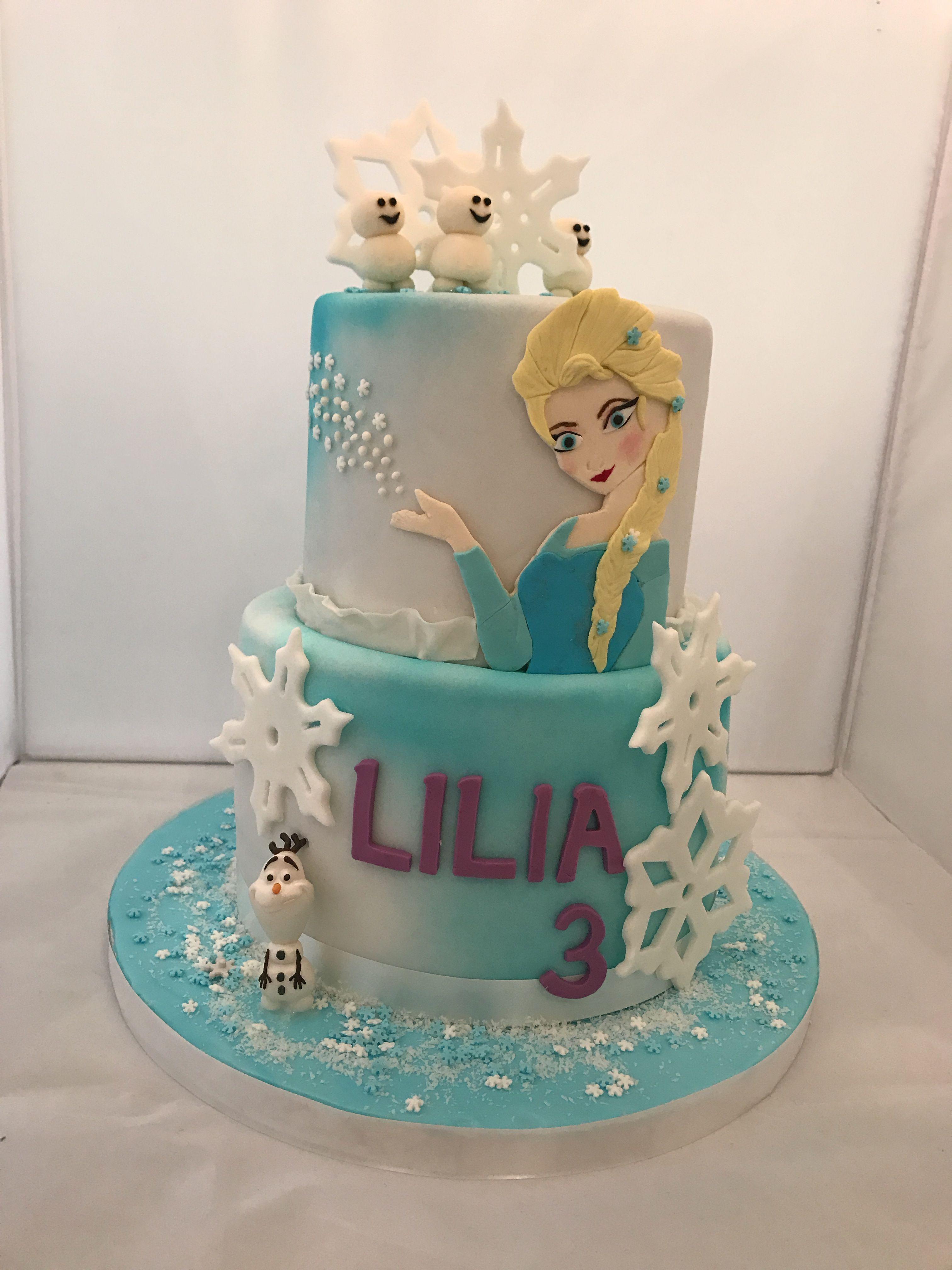 Results For Pinterest Frozen Birthday Cake