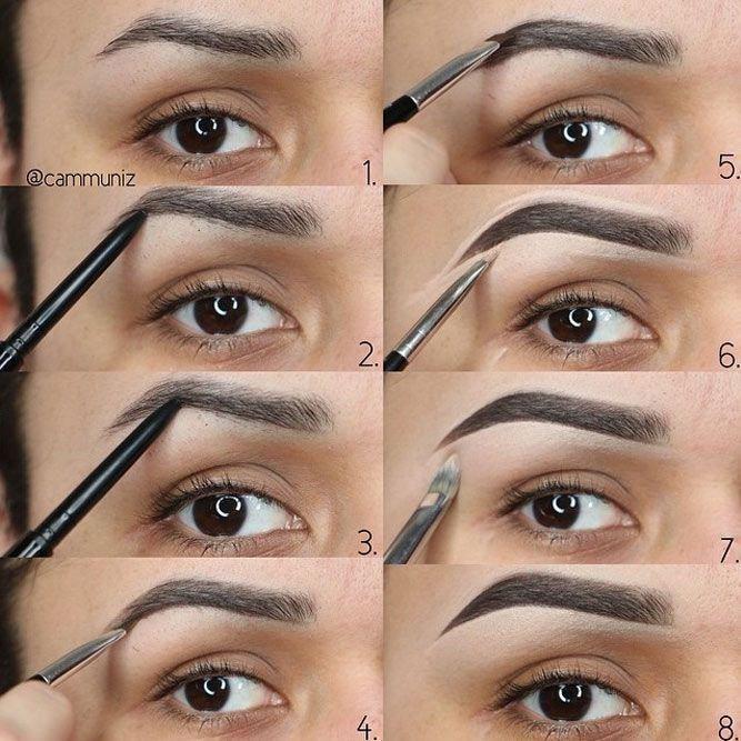 learn how to eyebrow thread