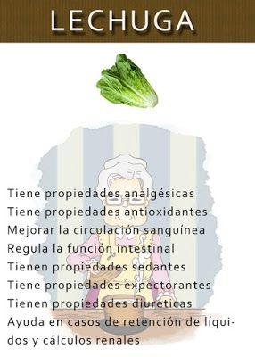 Las Abuelas Un Mundo De Sabiduria Poder Curativo De La Lechuga Natural Medicine Green Juice Smoothie Health Healthy