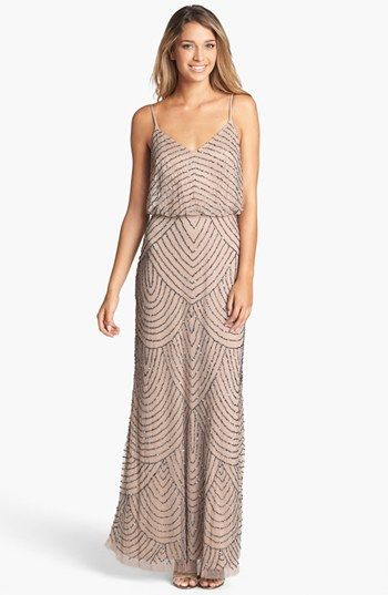 Embellished Blouson Gown | Mob dresses, I am and Gowns
