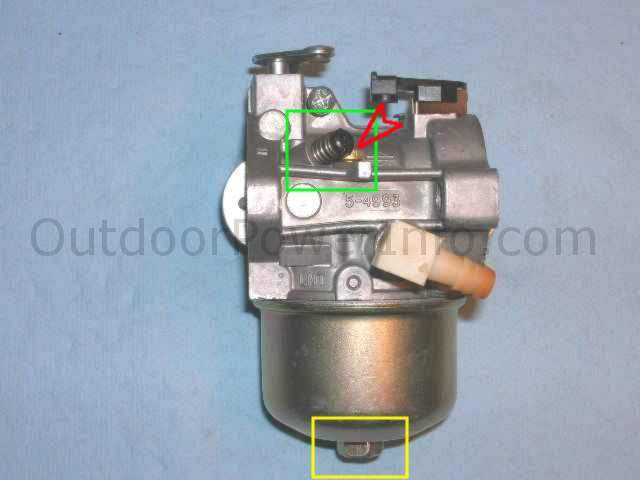 Briggs and Stratton / Walbro LMT Carburetor - LMT carb without