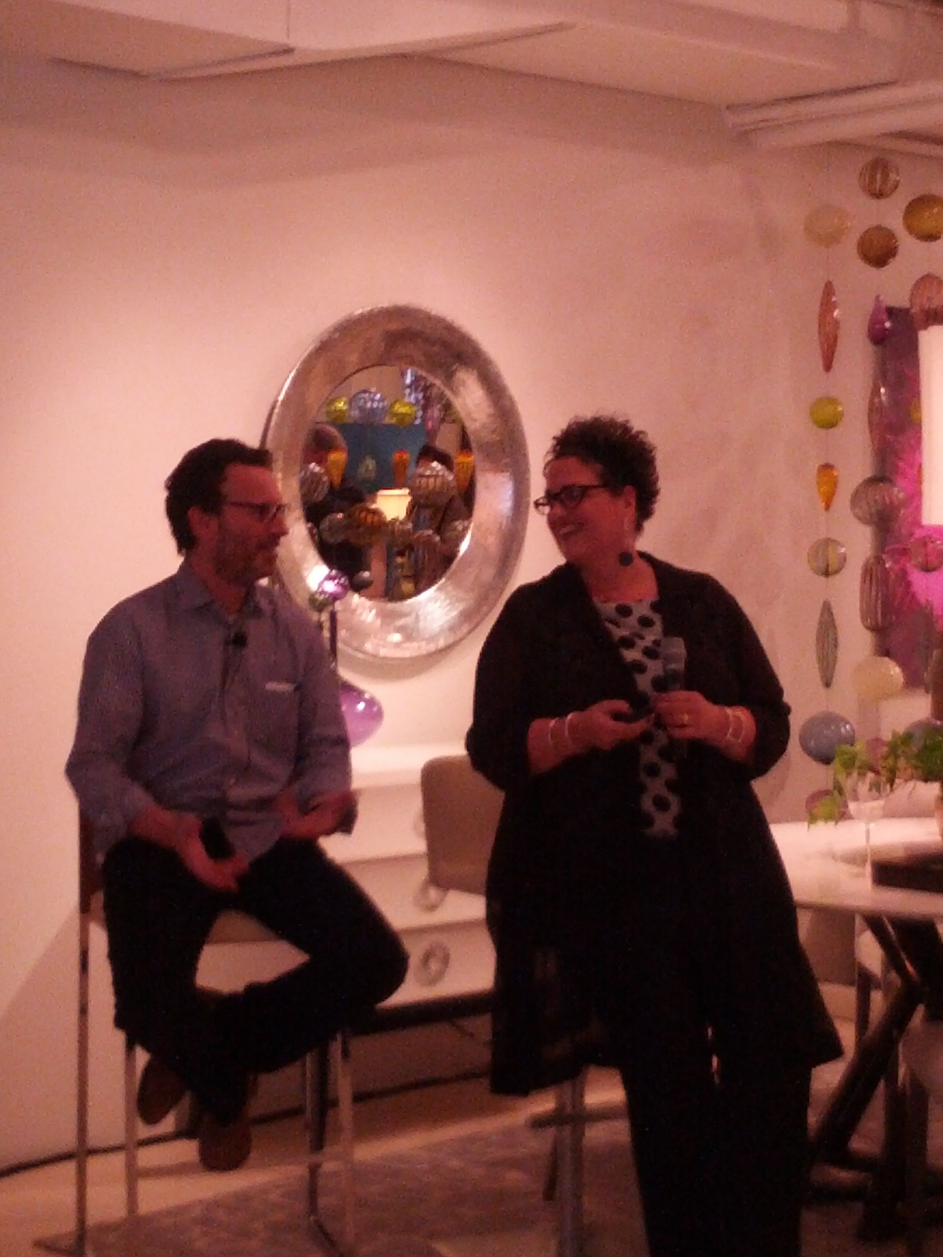 Check in at 200 lex with cindy alllen from interior design