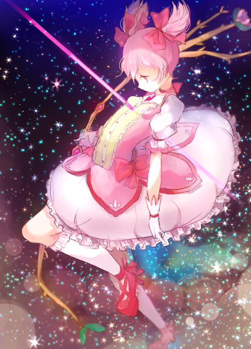 Every kind of nerdery imaginable. Madoka mágica, Anime