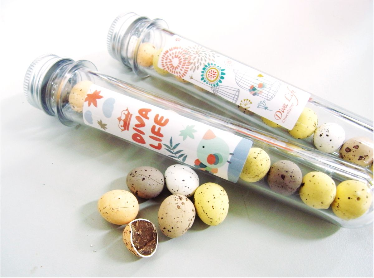 Diva Life Chocolatier  / 巧克力包裝