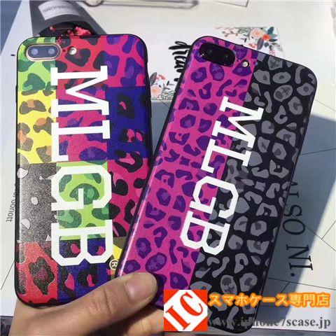 ストリートファッションブランドMLGB(エムエルジービー)iPhone8/7s/6splusケースカップル向けお揃いペアケース オフ-ホワイトOFF-WHITEアイフォン7plus/6s/6携帯カバー男女
