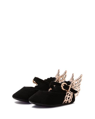 Sophia Mini-webster Chaussures De Ballerine Aile Métallique - Noir tWplp