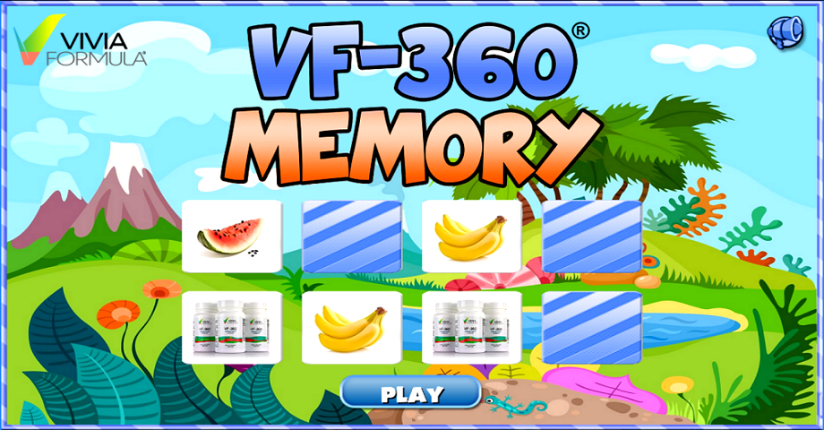Did you know that 3 minutes of daily brain exercise can significantly improve your memory? http://memory-game.viviaformula.com/
