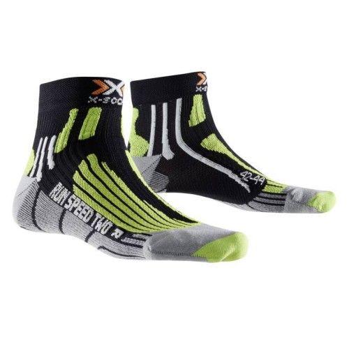 Calcetines X-Bionic Run Speed Two negro verde lima. Chaussettes  NikeChaussettes Pour HommesChaussettes De L'équipageChaussettes ...
