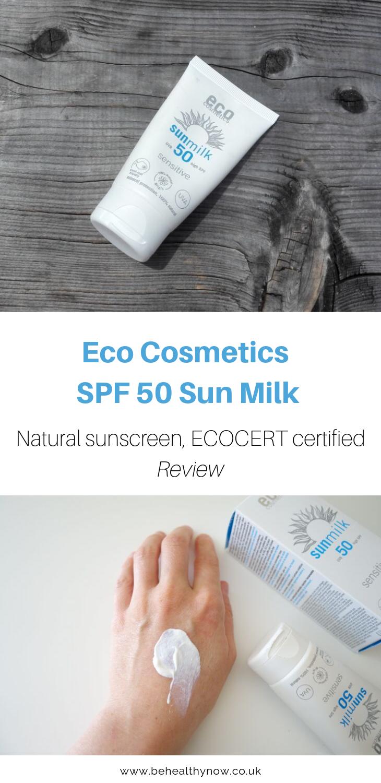 Eco Cosmetics SPF 50 Sun Milk Review Free Worldwide