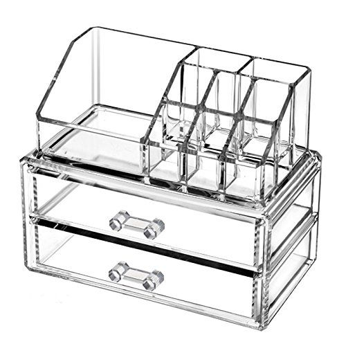 Home essentials Acrylic Makeup Organizer makeup Box Jewelry Cosmetic