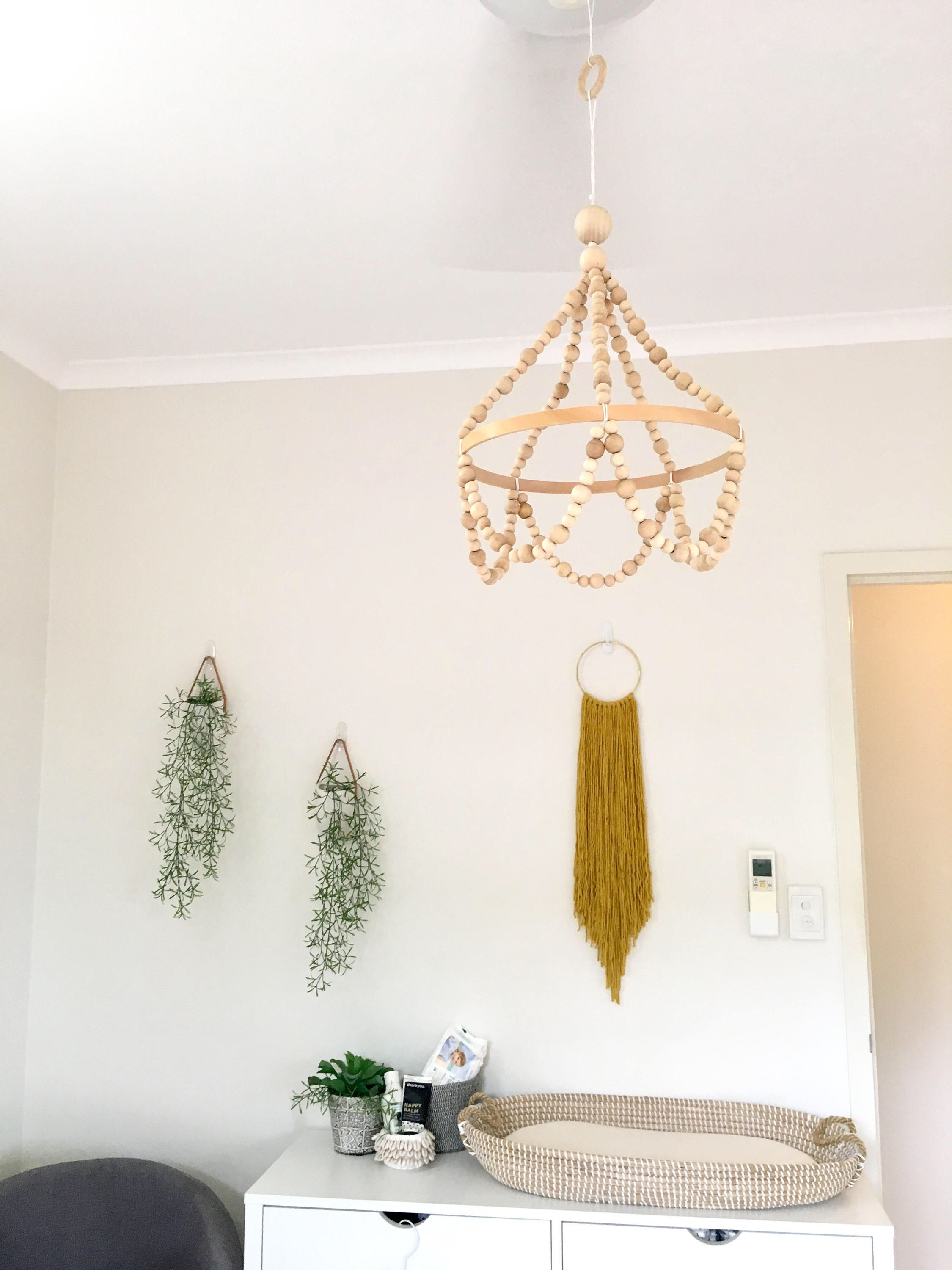 Large beaded chandelier mobile baby mobile cot mobile wooden large beaded chandelier mobile baby mobile cot mobile wooden mobile chandelier mobile arubaitofo Gallery