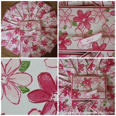 Garden in Bloom, SU, Blumen, Geburtstag, Karte, Einladung, Frühling