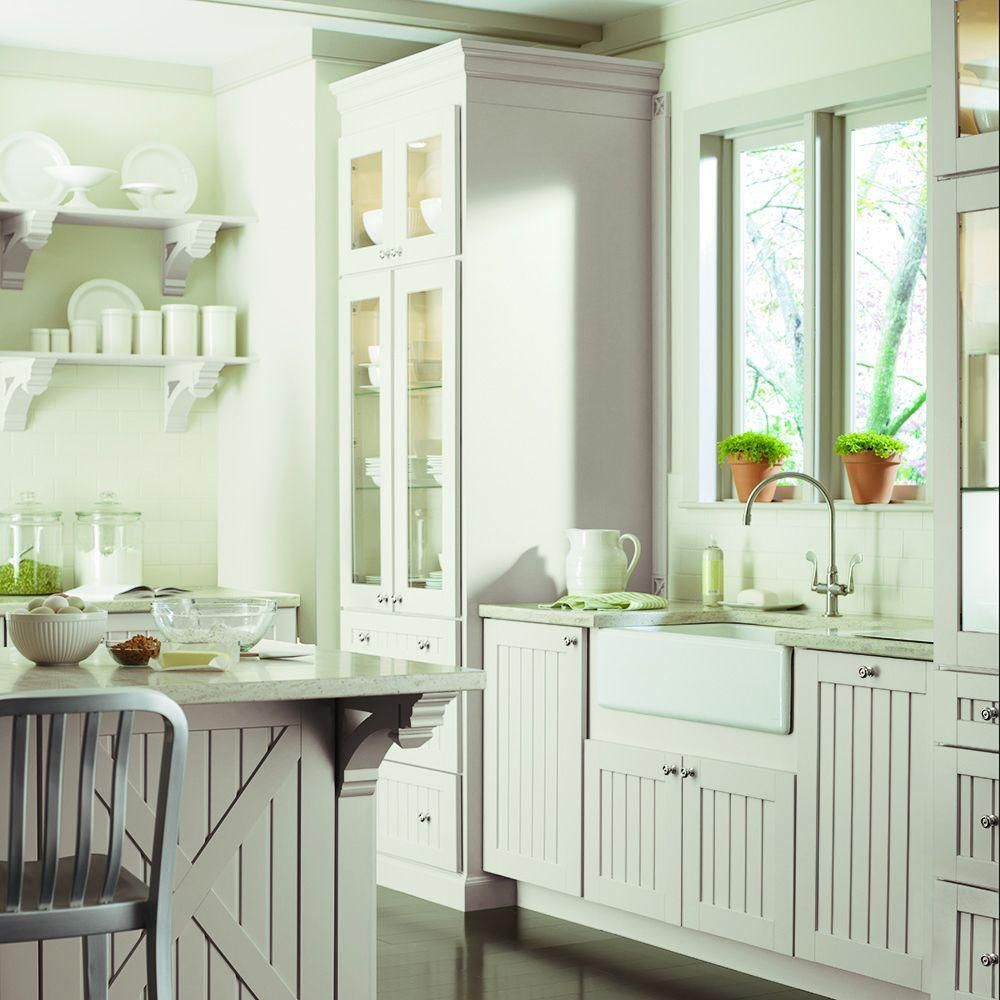 Light Color Classic Wood Kitchen Cabinet Collection ...