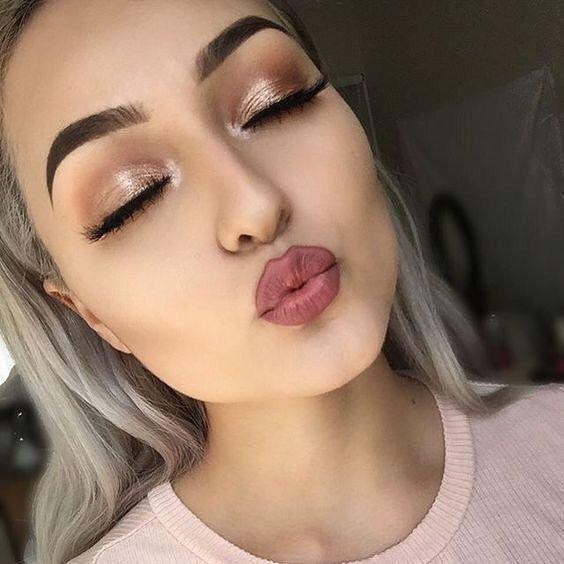 Pretty shimmery eye shadow