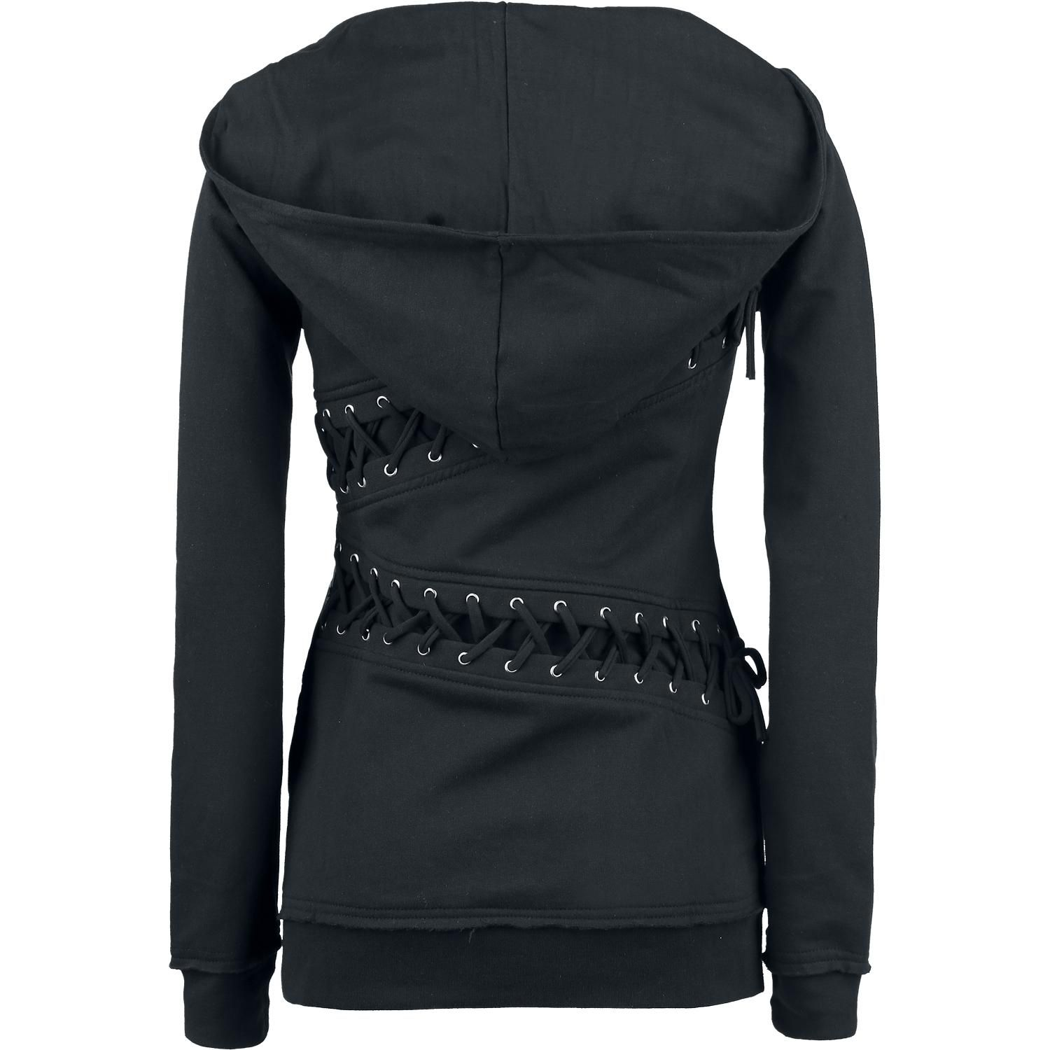 Wing - Girls hooded zip by Batman - Article Number: 272245 - from 62.99 € - EMP Merchandising ::: The Heavy Metal Mailorder ::: Merchandise ...