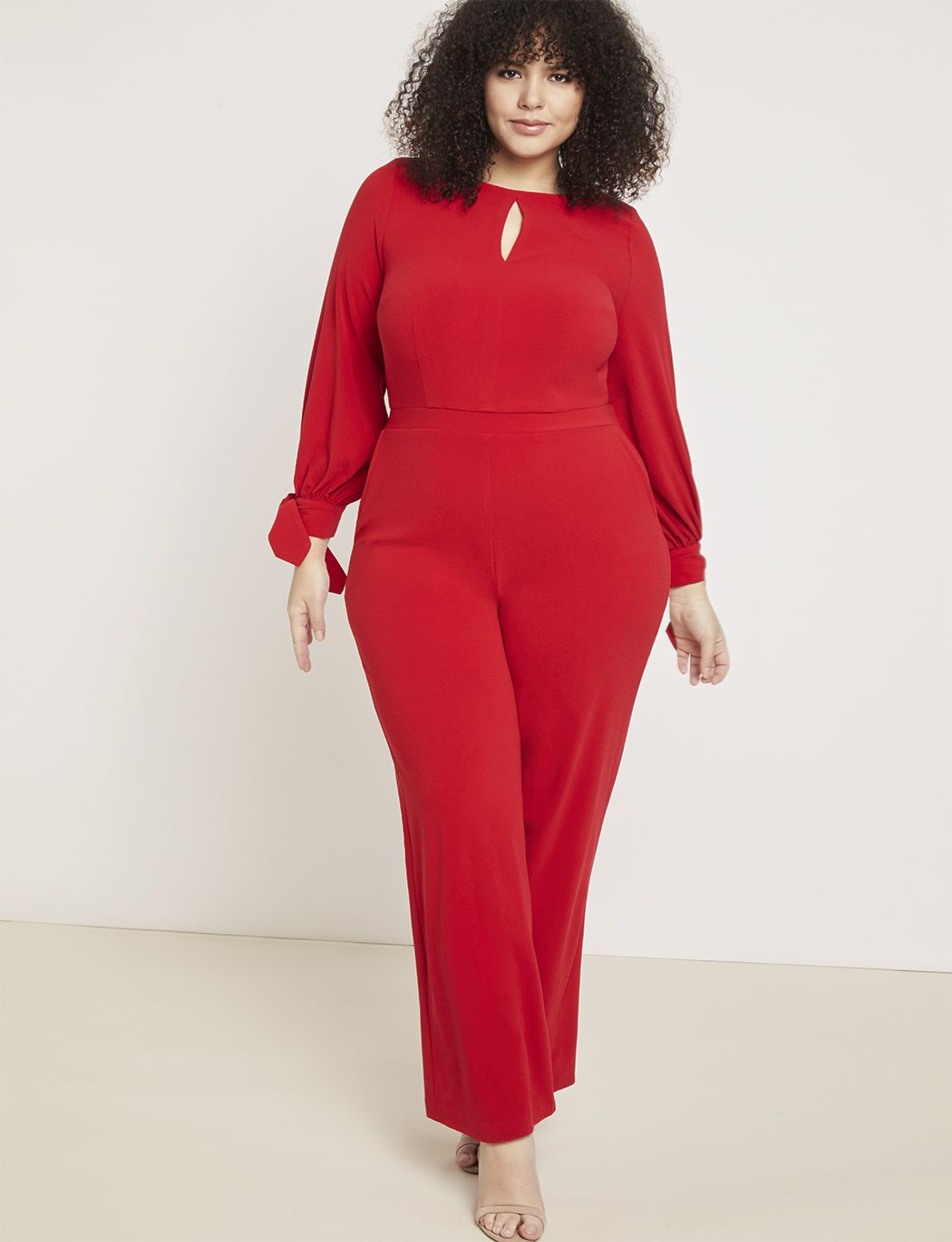57d9e3a327bb Wide Leg Jumpsuit with Tie in 2019