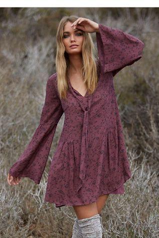 Vestidos invierno hippies